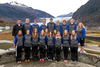 TMHS Team Photo at Mendenhall Glacier